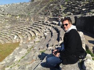Andrew Anastasios in Turkey (with son Roman)